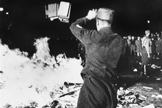 Nazi book burning : stealing & destroying memories, the effects of propaganda to teach hatred