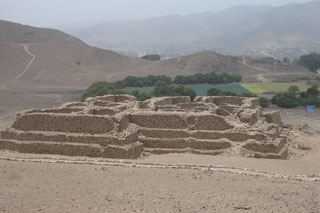 The 2013 destruction of Huaca el Paraiso pyramid in Peru bulldozed by developers, the cultural heritage of mankind destroyed by greed